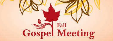 2014 Fall Gospel Meeting